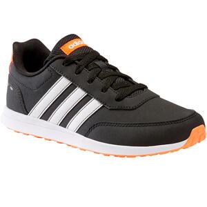 Sportschuhe Walking Schnürsenkel Switch Kinder schwarz