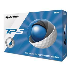 Golfbälle TP5 12 Stück weiß