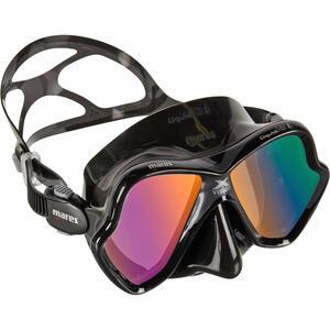 Tauchmaske X-Vision Liquid Skin schwarz/grau Spiegelglas