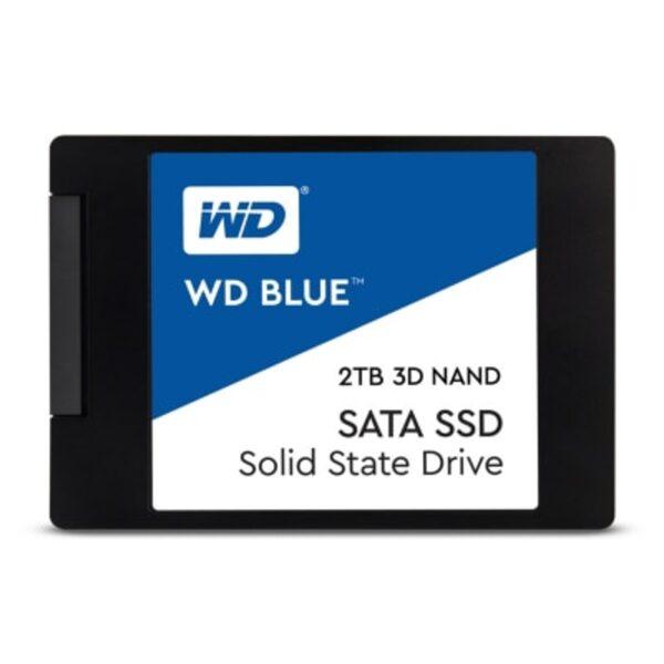 """WD Blue 3D NAND SATA SSD 2TB 6Gb/s 2.5""""/7mm"""