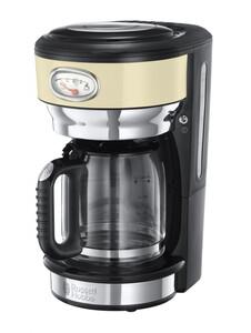 Russell Hobbs Retro Vintage Cream Glas-Kaffeemaschine