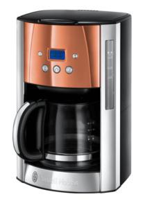 Russell Hobbs Luna Copper Glas-Kaffeemaschine