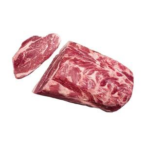 Frischer Irischer Steaknacken vom Rind, ohne Knochen, je 100 g
