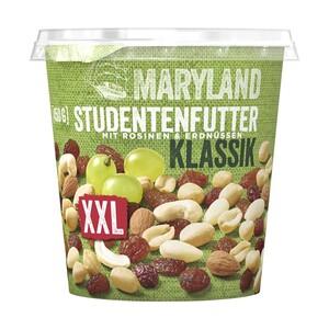 Maryland Studentenfutter XXL, Kennzeichnung siehe Etikett, jeder 450-g-Becher