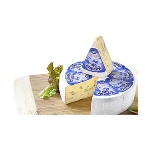 Bergader Bavaria blu mit Blauschimmel Deutscher Weichkäse,  70 %  Fett i. Tr., je 100 g