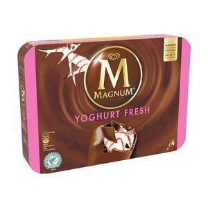 Langnese Magnum Mini Mandel 6er oder Magnum Yoghurt Fresh 4er jede 330/440-ml-Multipackung und weitere Sorten