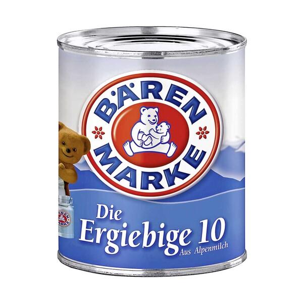 Bärenmarke Kondensmilch Die Ergiebige 10 jede 340-g-Dose