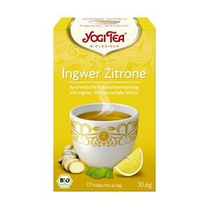 Yogi Bio Tee Classic oder Ingwer Zitrone und weitere Sorten, jede 17er = 37,4/30,6-g-Aufgußbeutel-Packung