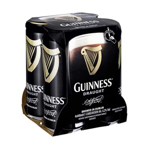 Guinness jede 4 x 0,44-Liter-Packung
