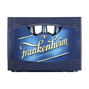 Frankenheim Alt 20 x 0,5 Liter oder Frankenheim Blue* (*koffeinhaltig), 24 x 0,33 Liter,  jeder Kasten