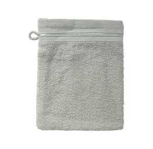 Waschhandschuh mit schicker Bordüre, 16x21cm