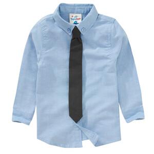 Jungen Hemd mit Krawatte