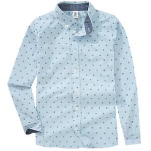 Jungen Hemd mit Anker-Allover