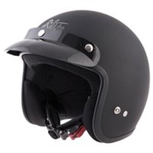 Nikko Jethelm N313 schwarz matt, Größe L