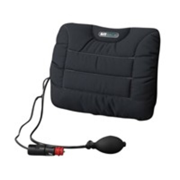 SITBACK Air Heizung Rückenkissen mit schwarzem Stoffbezug, 12V Anschluss