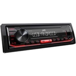 JVC Autoradio KD-X162 mit UKW/MW/LW, 13-Preset Equalizer, Front-USB-Eingang, Subwoofer-Anschluss und Steuerung via Smartphone (Android)