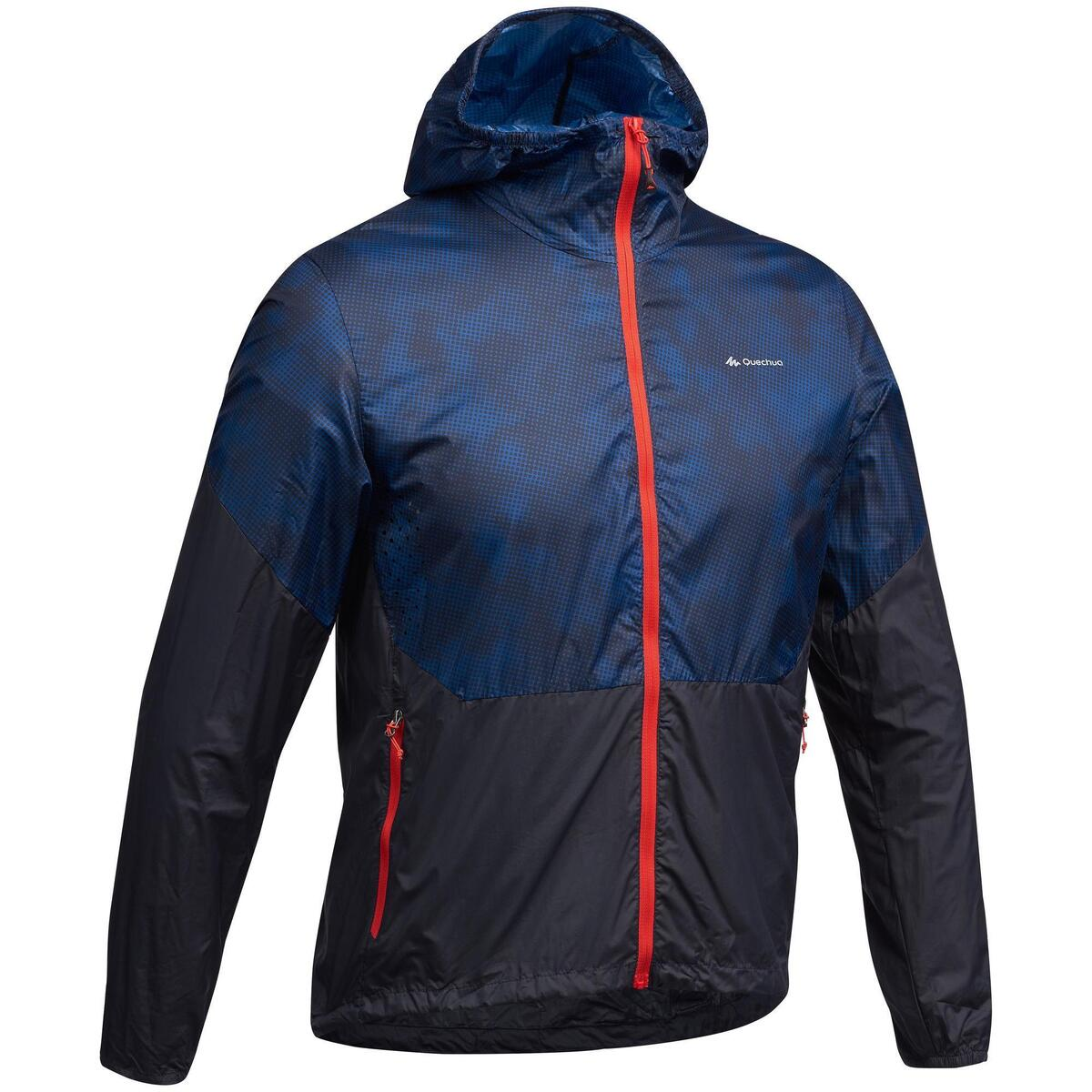 Bild 1 von Windjacke Speed Hiking FH500 Helium Herren blau/rot
