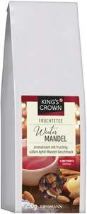 King's Crown Früchtetee Winter-Mandel