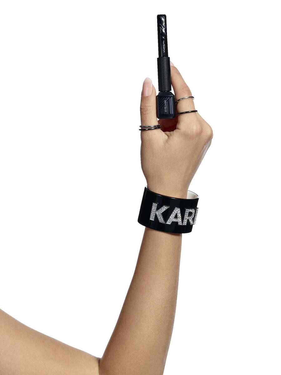 Bild 4 von L'Oréal Paris Karl Lagerfeld Eyeliner Chic Rose Silver