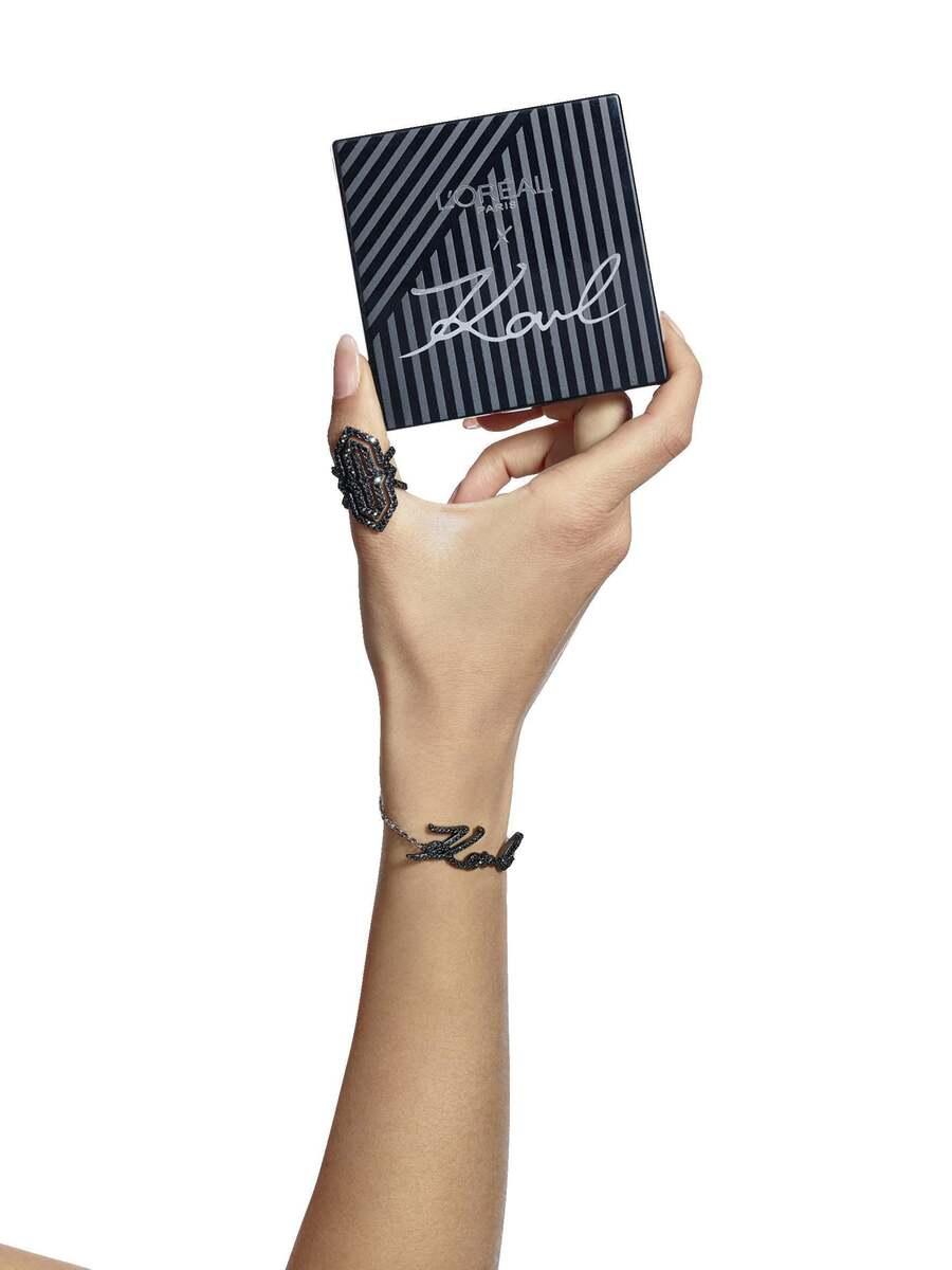 Bild 5 von L'Oréal Paris Karl Lagerfeld Lidschatten-Palette