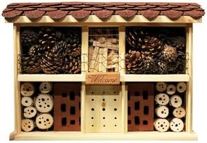 """Luxus-Insektenhotel """"Landhaus Komfort"""", Kiefer"""
