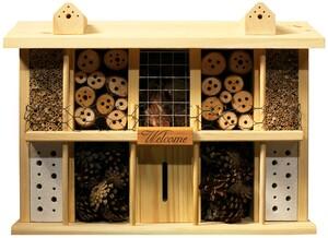 "Luxus-Insektenhotel ""Landsitz Superior"", Kiefer"