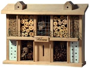 """Luxus-Insektenhotel """"Landsitz Superior"""", Eiche"""
