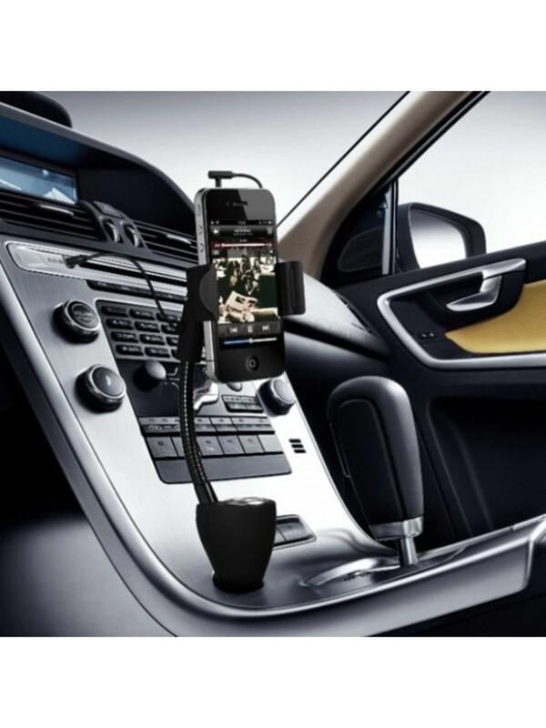 Technaxx Universal Autohalterung mit Ladegerät TE06