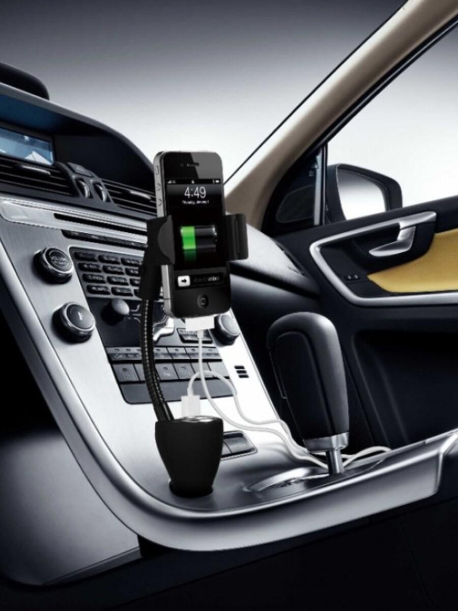 Bild 2 von Technaxx Universal Autohalterung mit Ladegerät TE06