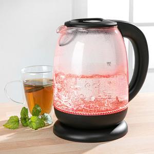 Emerio LED Glas-Wasserkocher 1,7 L