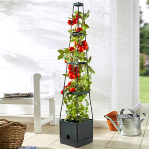 Powertec Garden Tomaten-Pflanzturm, 16 Liter