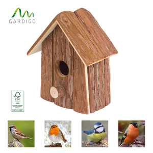 Gardigo Vogelhaus Natur FSC