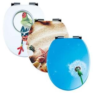 badkomfort 3D-WC-Sitz, Absenkautomatik, Strand