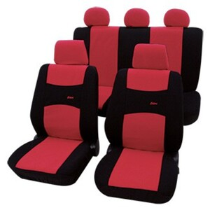 Diamond Car Universal-Auto-Sitzbezug-Set Colori, Rot