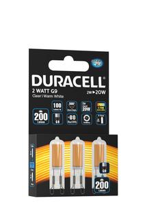 Duracell Spezial LED Leuchtmittel - G9 Mini 3er-Set