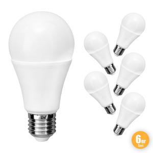 """I-Glow LED Leuchtmittel """"Birne"""", 10 Watt 6er Set"""