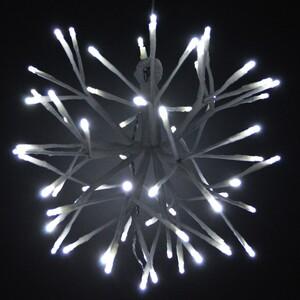 LED Weihnachtsstern Ø 35 cm 64 LED kaltweiß innen/außen Leuchtstern