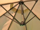 Bild 3 von Solax Sunshine Oval-Sonnenschirm, Natur