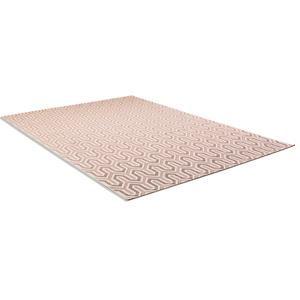 In-/Outdoorteppich - rosa - 120x170 cm