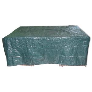Gardiola Gartenmöbel-Abdeckung - grün - Kunststoff - 205 cm breit
