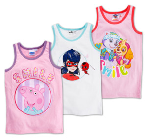 Mädchen-Lizenz-Unterhemden