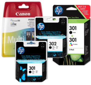 HP, CANON oder EPSON Druckerpatronen