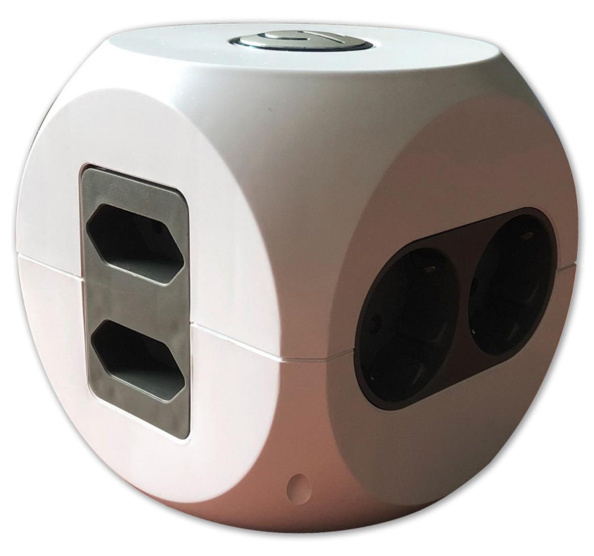 Bild 3 von HOME IDEAS LIVING Designsteckdosenwürfel