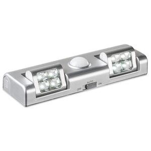 LED-Unterbauleuchte - silber - kaltweiß - schwenkbar