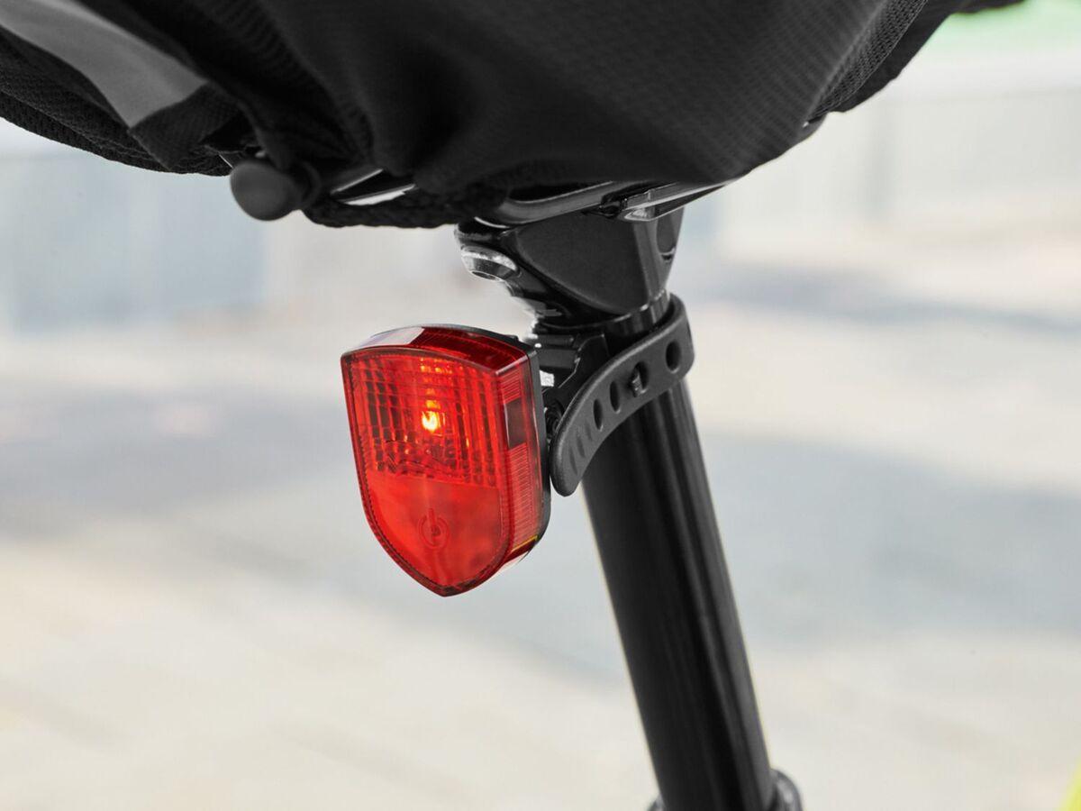 Bild 3 von CRIVIT® LED Fahrradbeleuchtung, 2-teilig, Akku-Frontlicht mit Automatik-Funktion