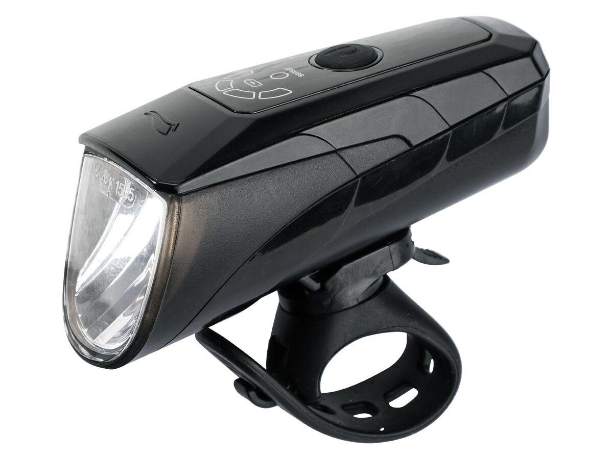 Bild 4 von CRIVIT® LED Fahrradbeleuchtung, 2-teilig, Akku-Frontlicht mit Automatik-Funktion