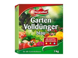 Garten-Volldünger, blau