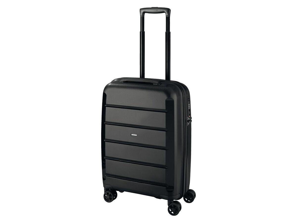 Bild 1 von TOPMOVE® Koffer, 30 L Volumen, maximal 10 kg Füllgewicht, mit 4 Rollen, schwarz