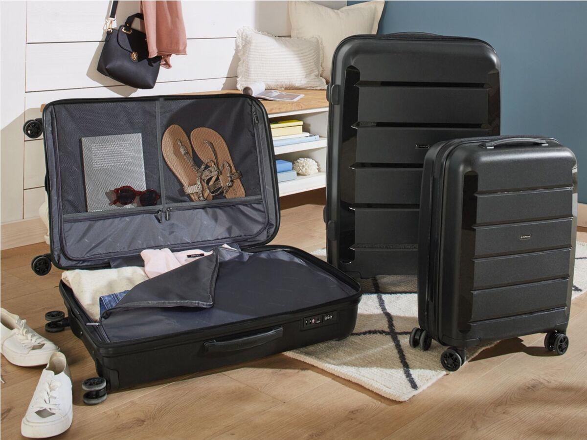 Bild 2 von TOPMOVE® Koffer, 30 L Volumen, maximal 10 kg Füllgewicht, mit 4 Rollen, schwarz