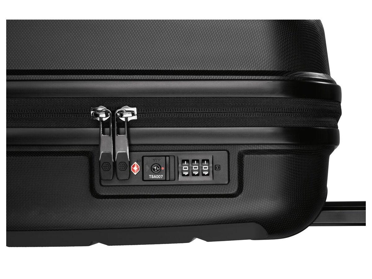 Bild 3 von TOPMOVE® Koffer, 30 L Volumen, maximal 10 kg Füllgewicht, mit 4 Rollen, schwarz